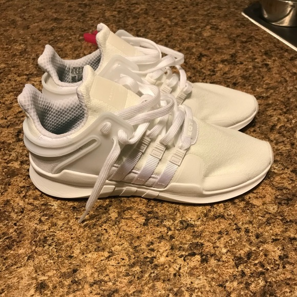 new style 51619 5454d adidas Shoes - All white mens adidas eqt
